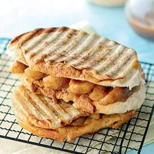 Apple Panini. #food #apple #panini   Apple Crunch Day   Pinterest