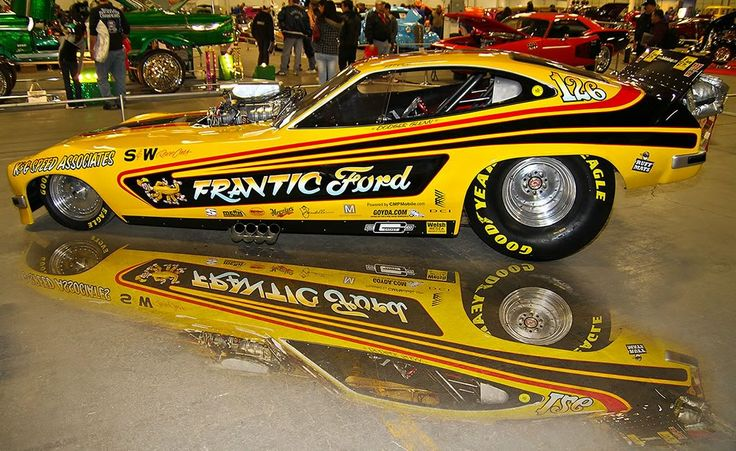 The 'Frantic Ford' 1969½ Mustang Mach I Funny Car Making ...