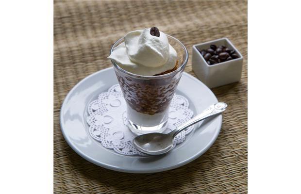 Espresso Granita with Whipped Cream | Recipe Ideas | Pinterest