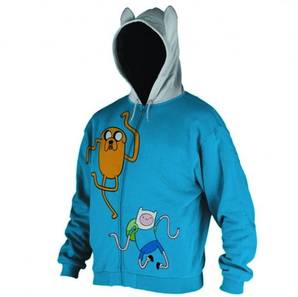 Adventure Time Hoodie | My Inner Nerd :) | Pinterest