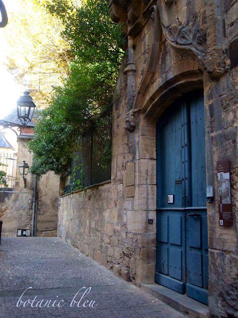 Botanic Bleu: Blue Doors in France