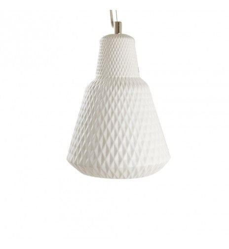 Suspension Diamond Blanche- Céramique  Luminaires  Pinterest