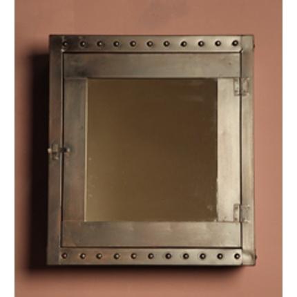 Rustic medicine cabinet with mirror - Hickory medicine cabinet with mirror ...