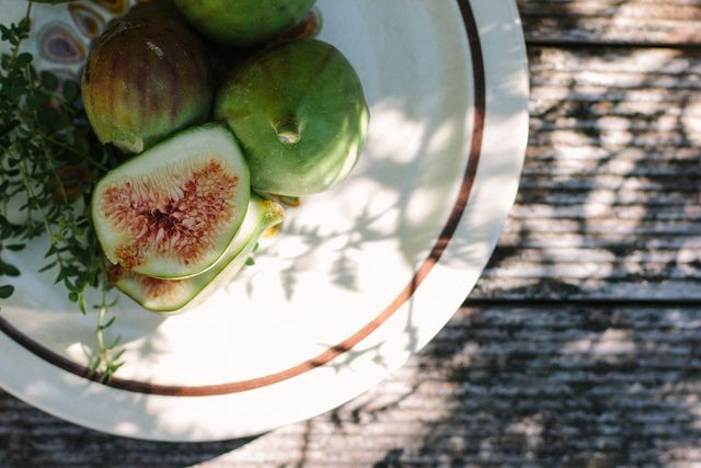 honey + thyme figs w/ greek yoghurt // My Darling Lemon Thyme, via ...