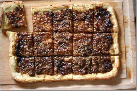 Onion Tart with Mustard and Fennel | Savory! | Pinterest