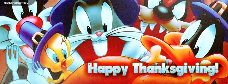Looking for a high quality Looney Tunes Happy Thanksgiving Facebook ...
