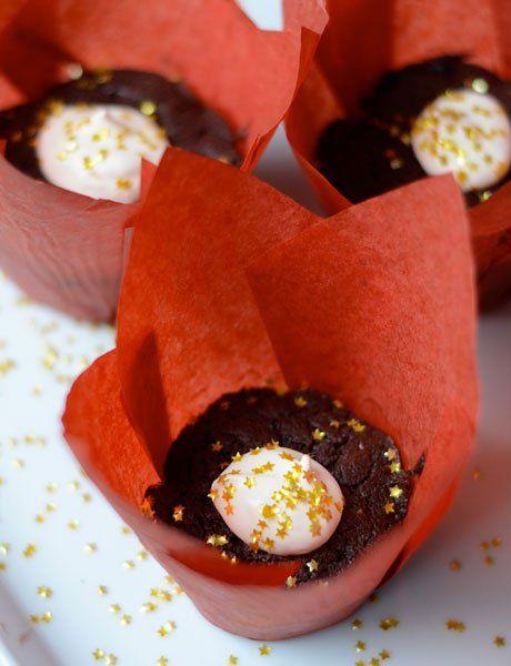 Fudgy Chocolate Cakelets Recipe — Dishmaps