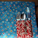 25+ Free & Crafty Placemat Patterns: {Sew & No-Sew}