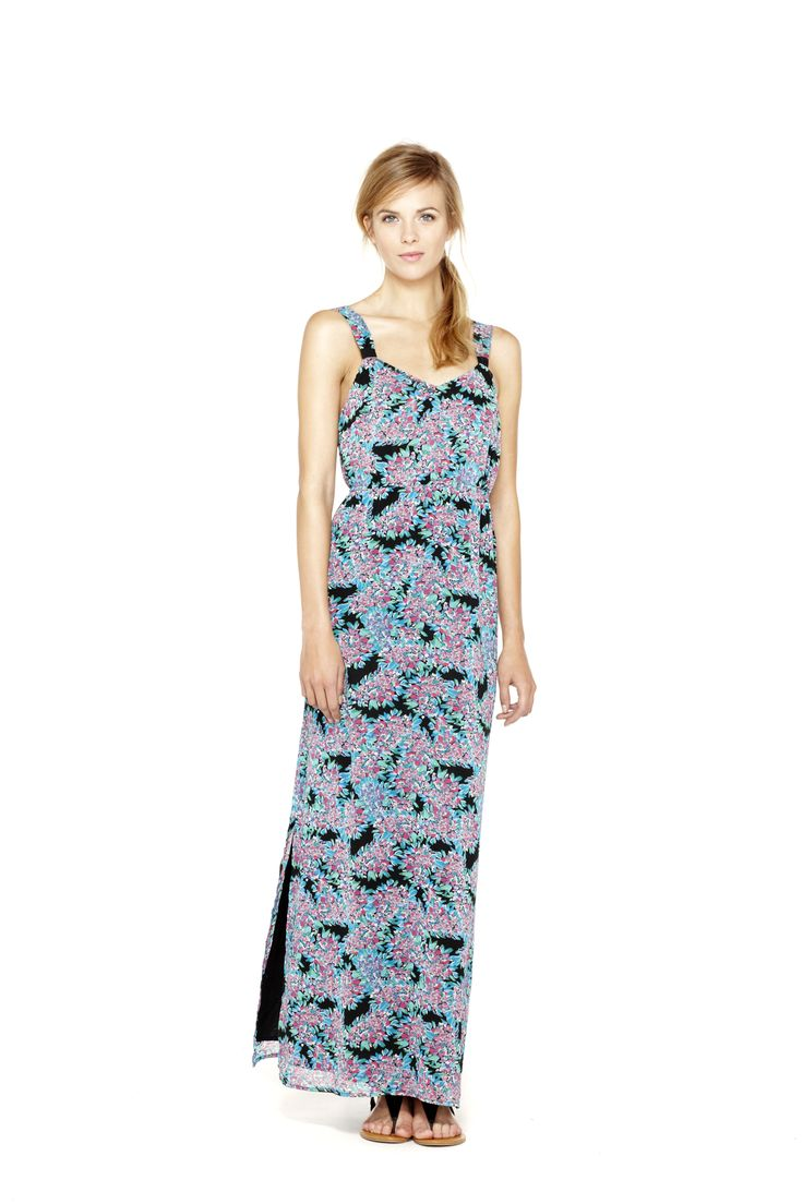 Springpreview comingsoon iheartronson look 8 floral maxi dress