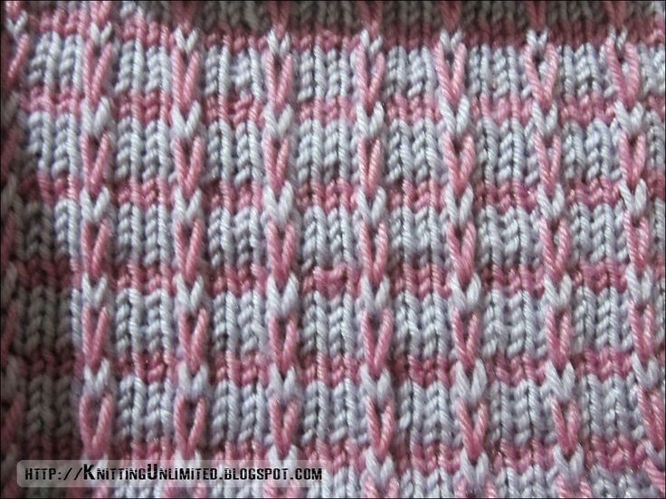Knitting Stitches Instructions Slip Stitch : Knitting Unlimited: Slip Stitch Patterns mosaic Pinterest