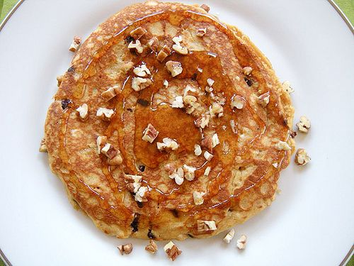 Single Lady Pancakes (Buttermilk, Peanut Butter, Chocolate Chips, Nuts ...