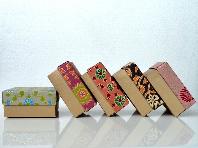 Packaging box,wedding favor box, Gift box -10 assorted Indian print a ...