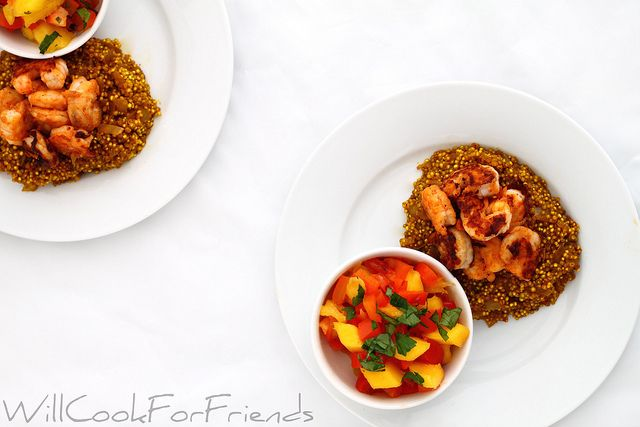 Red Pepper And Pistachio Curried Shrimp Recipes — Dishmaps