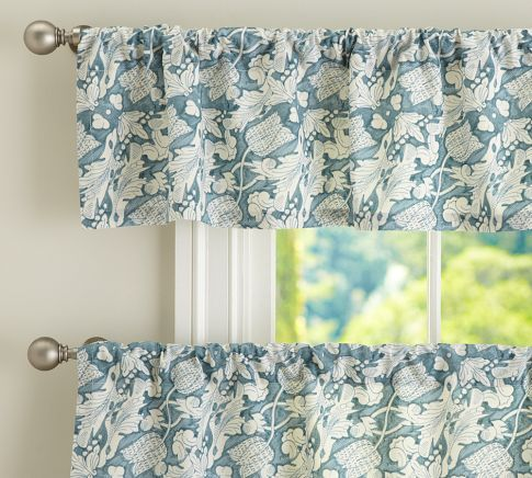 Maia Cafe Curtain Pottery Barn In The Kitchen Pinterest