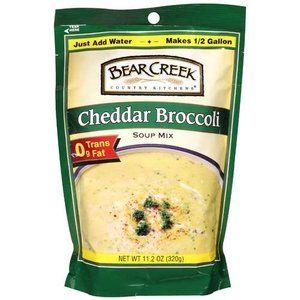 Bear Creek Country Kitchens: Cheddar Broccoli Soup Mix, 11.20 oz