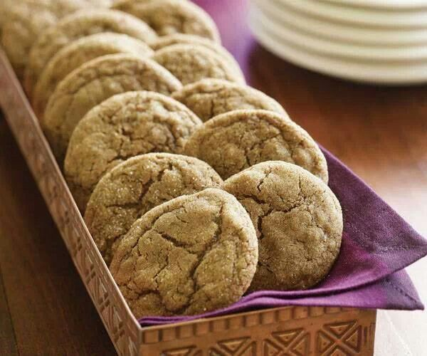 double ginger cookies | Cooking | Pinterest