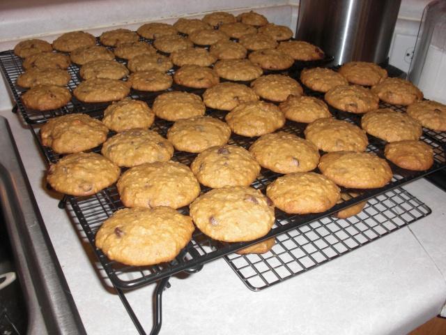 Banana-Walnut Chocolate Chip Cookies GODacts@WordPress.com- see ...