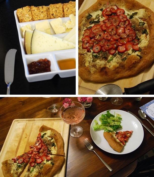 Strawberry, Basil & Goat Cheese Pizza | Pizza | Pinterest