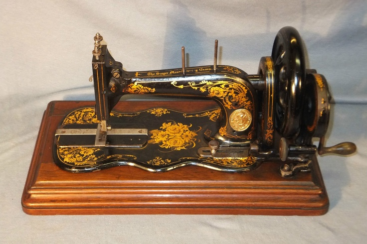 1879 sewing singer: