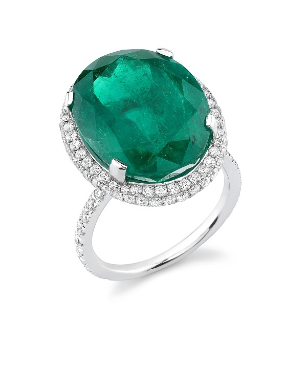 halo ring halo ring emerald