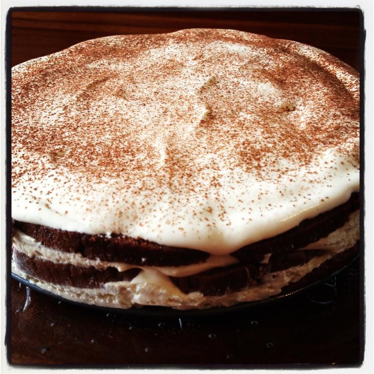 Tiramisu layer cake | From my kitchen | Pinterest
