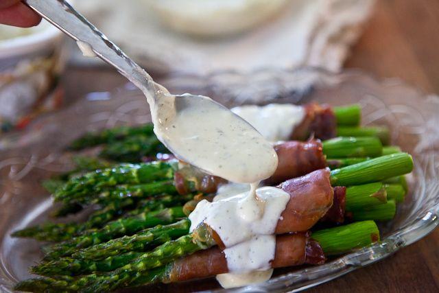 Crispy Prosciutto Wrapped Asparagus | Recipe