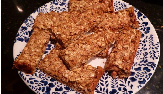 Homemade Peanut Butter Granola Bars   fOOd   Pinterest