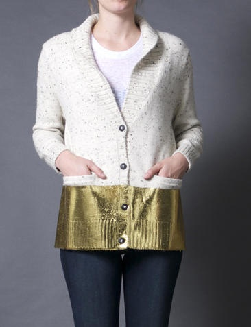 Gold Lame Sweater 113