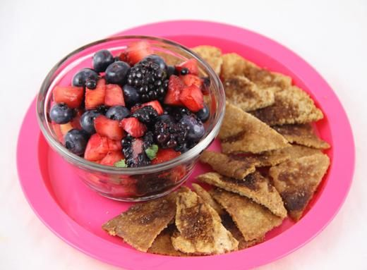 This easy-to-make fresh fruit salsa (including fresh blackberries ...