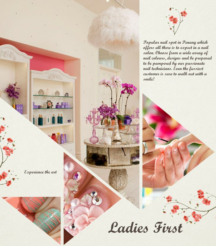 Ladies first is a popular nail spot in penang which offers for A spot nail salon