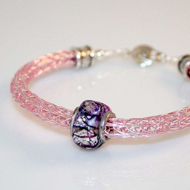 Viking Knit Jewelry Patterns : Viking Knit Bracelet bracelet Pinterest