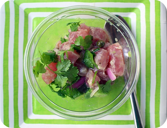 Tuna Avocado Ceviche | Yummies for the Tummy | Pinterest