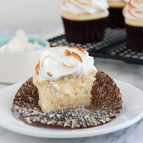 Coconut-Cream Meringue Cupcakes by Tracey's Culinary Adventures, via ...