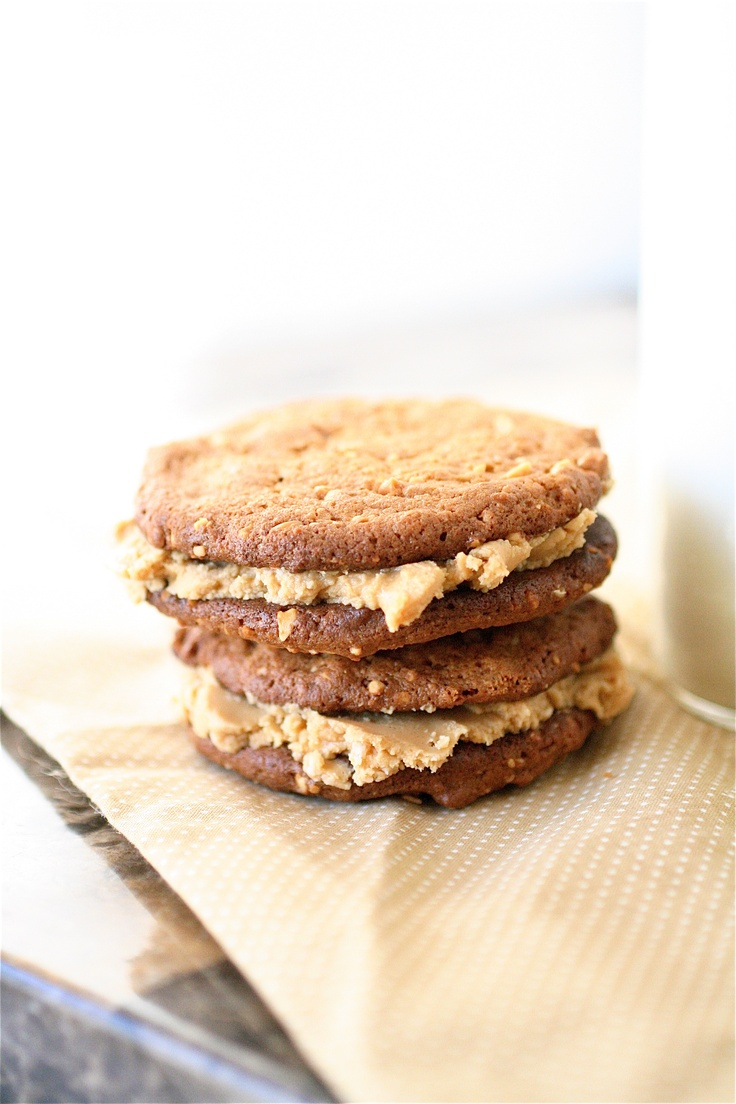 Peanut Butter Sandwich Cookies Recipe | Food - Cookie Monster ...