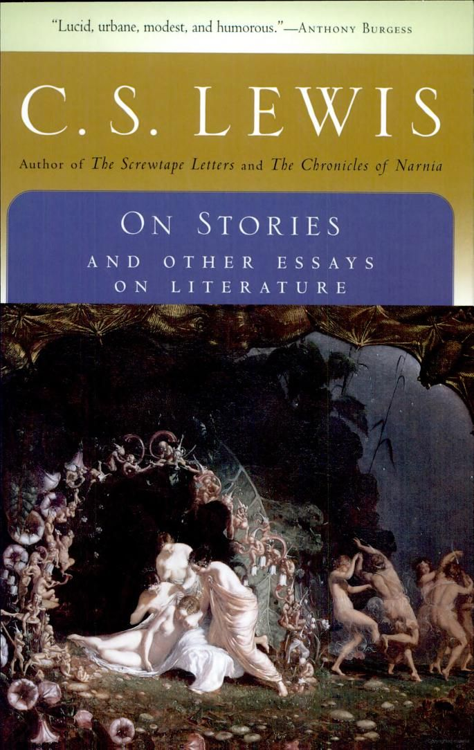 cs lewis on stories and other essays