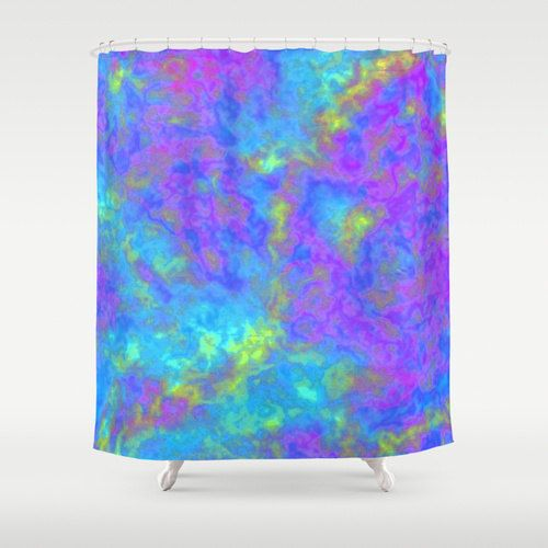 Organic Shower Curtain Liner Purple Ruffle Shower Curtain