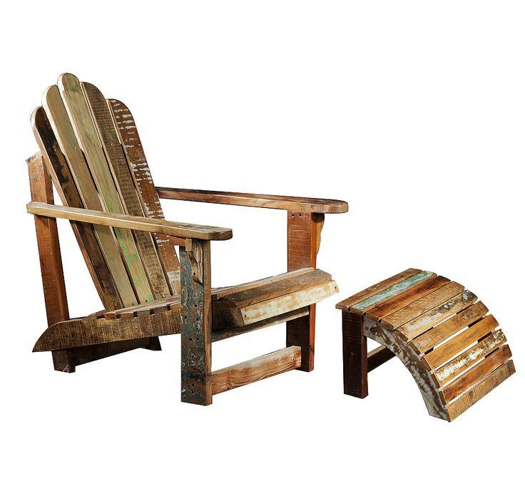 Muskoka chair with ottoman proceler