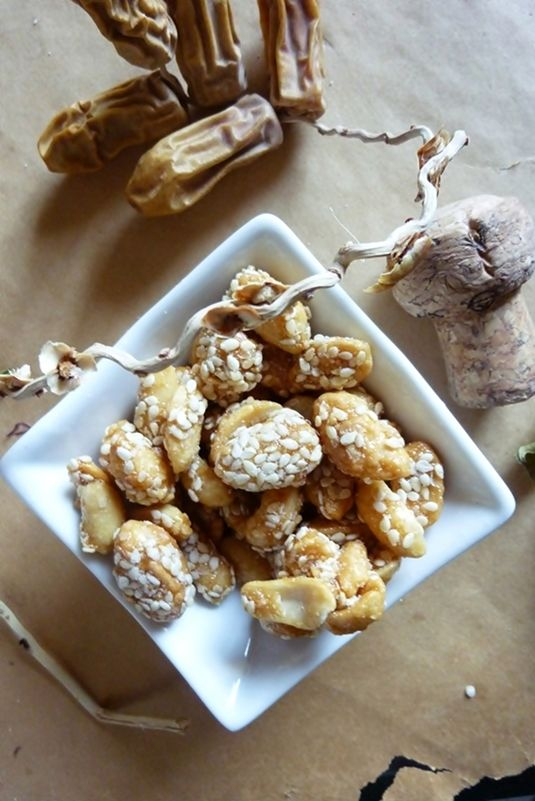 Homemade honey sesame roasted peanuts - recipe and photo by Khadeejah ...
