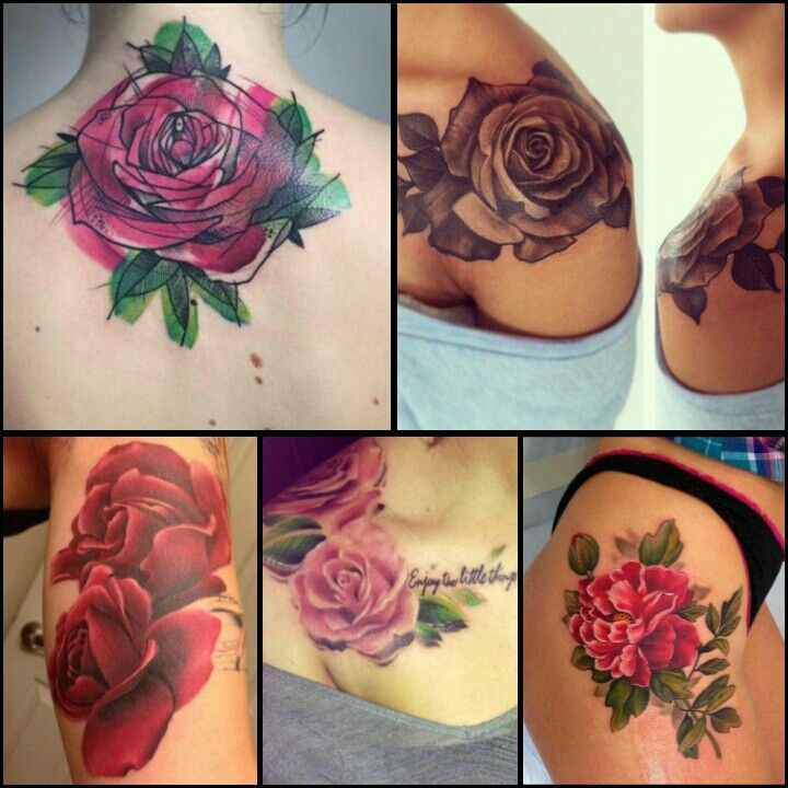 Rose Tattoo Designs / Tattoo Ideas