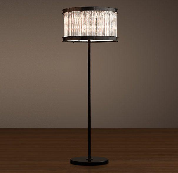 1920s essex crystal rod floor lamp my style pinterest for 1920s floor lamps