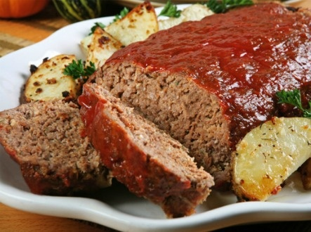 Ground Beef Meatloaf Yummy Pinterest