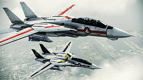 F-14s in Macross livery //