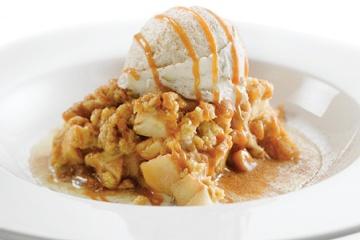 Apple Crumble and Vanilla Ice Cream   Recipes   Pinterest