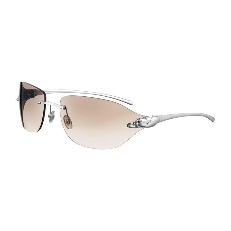 Cartier Rimless Glasses : Panthere de Cartier rimless sunglasses Eyewear Pinterest
