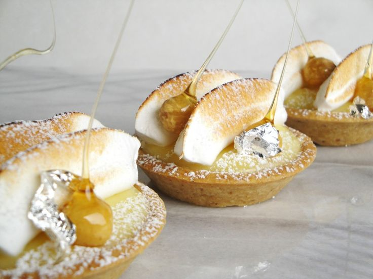 Meyer lemon tarts | Decadent Desserts | Pinterest