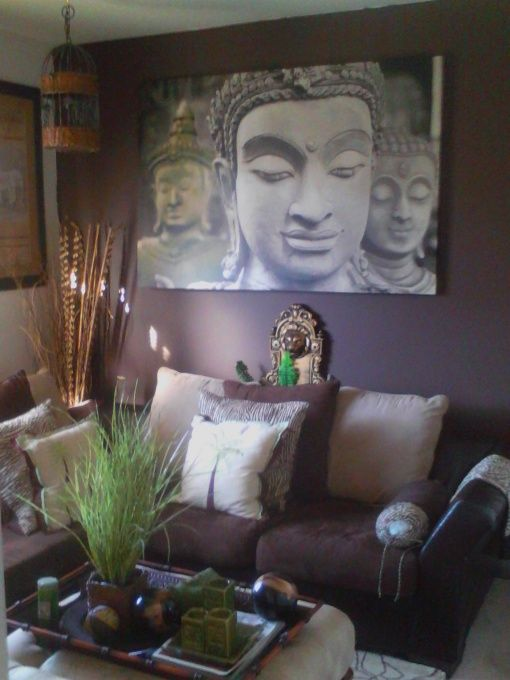 Zen retreat from diy user smallspace beautifulspace for Zen home decorations