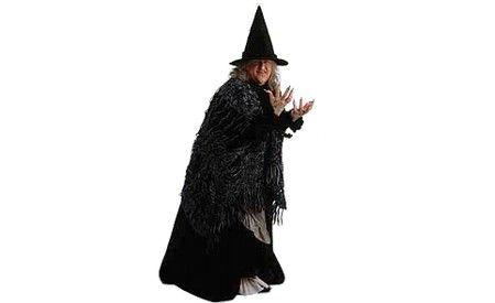Disfraz de bruja casero