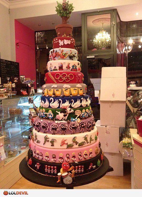 12 days of Christmas cake!