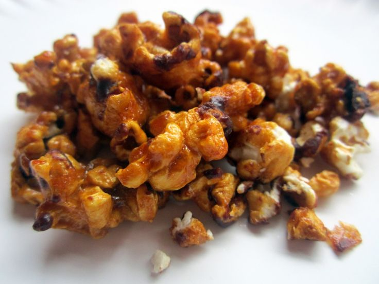 Dark Chocolate Salted Caramel Corn + an awesome playlist