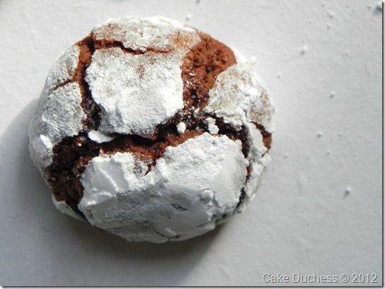 Chocolate Crackle Cookies | Cookies | Pinterest
